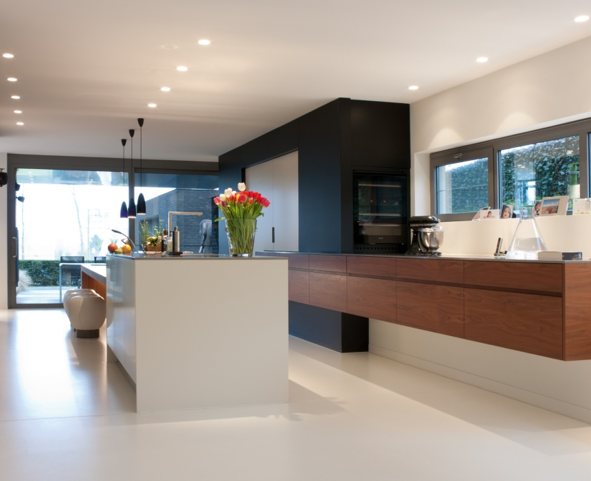 woonkamer verlichting plafond inbouw led inbouwspots lactate