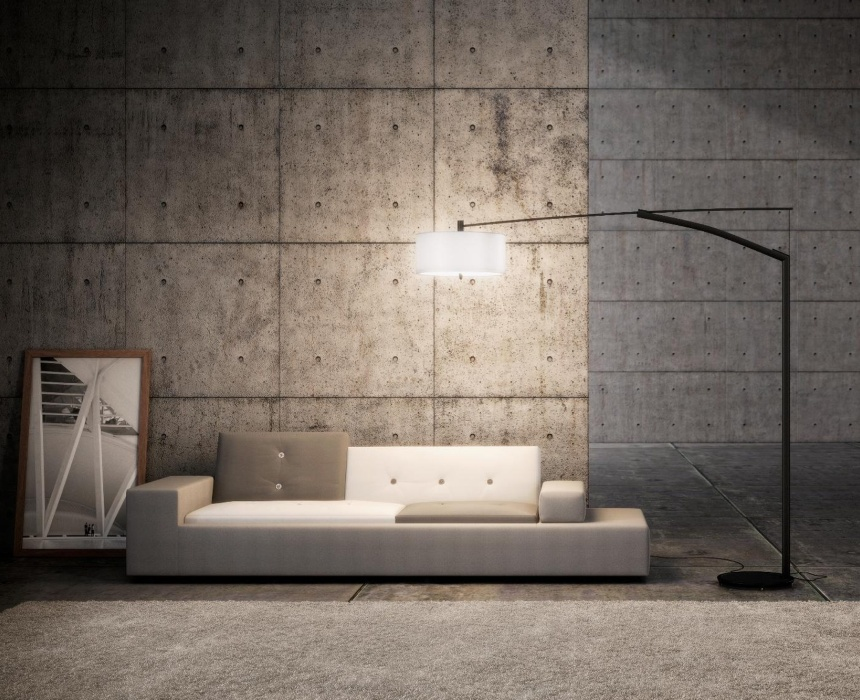 Vloerlamp vibia balance